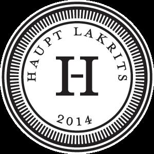 Haupt Lakrits logo - Social Zense