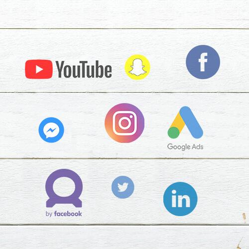 Kanaler Social Zense