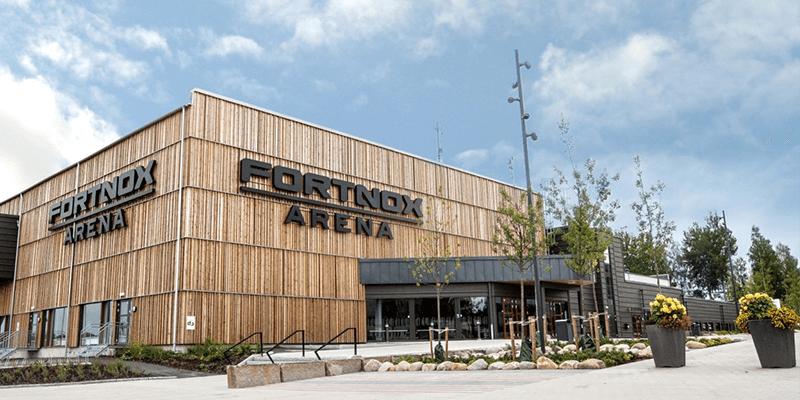 Fortnox Arena Social Zense huvudpartner till Växjö Vipers